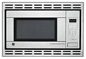 New stainless MICROWAVE + TRIM KIT 24'' / 1100 WATTS