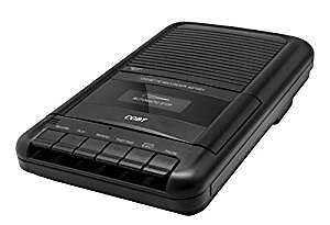 Coby CVR-22 Portable Cassette Recorder + 7 Cassettes (Brand new)