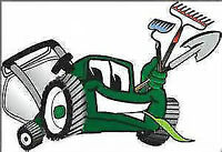 Lawn, Grass cutting, trimming, raking, hedge clip, mulch, eaves