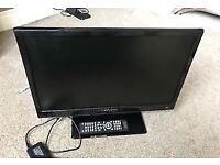 "22"" LED DVD TV 12V FREEVIEW HDMI WITH REMOTE CAN DELIVER"