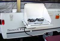 WANTED TO BUY -Slide in propane stove for side of trailer