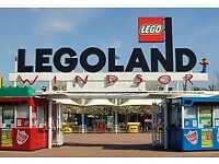 5x Legoland Tickets Sunday 23rd September