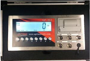 Optima - OP 903 Portable Static Weighing Indicator