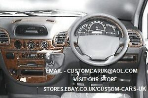 Walnut or carbon fibre dash kit mercedes sprinter 2000 for Garage mercedes loison sous lens