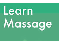 Do you have an interest in massage??? would you like to learn practice more?
