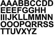Window Stickers Letters