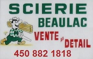 Scierie Beaulac 450-882-1818