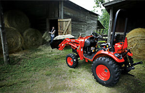 Kioti CK2510 Tractor and FREE Front End Loader