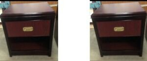 Night Stands $25 each- delivery available 902-210-0835
