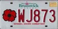 NB and NS License Plates