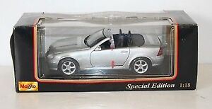 Mercedes Benz SLK Maisto Special Edition 1:18 Scale Die Cast