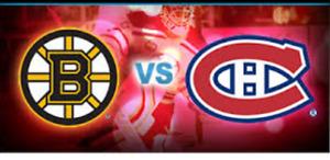 Billet Canadien vs Boston