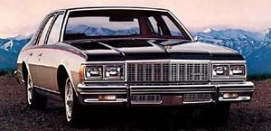 Looking for GMC camper special, Caprice, park avenue, benz 560..