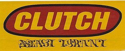 Clutch Blast Tyrant RARE promo sticker '04