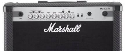 GOOD CONDITION - Marshall MG30CFX Guitar Combo Amp - SALE