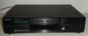 TOSHIBA DUAL DVD PLAYER AND 2 SONY SPEAKERS FOR $55