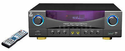 PT980AUH 7.1 chi 350Watt  AM FM Radio /USB SD card HDMI Amplifier Receiver