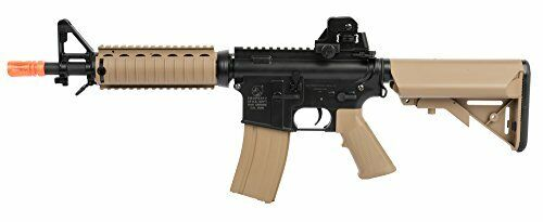 Automatic Electric Airsoft Gun CQBR-RIS Durable Metal Gears with Gearbox