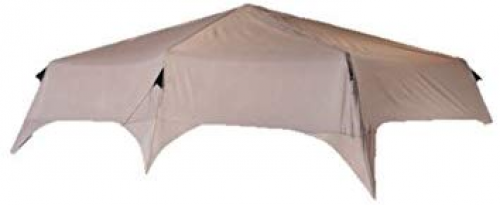 Brand New Coleman Instant Tent Rainfly, 14 x 10-Feet, Brown
