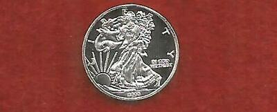 1 GRAM .999 Pure Silver Bullion--Silver Eagle Round