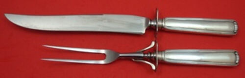 Marie Louise by Blackinton / Towle Sterling Silver Roast Carving Set 2pc HHWS