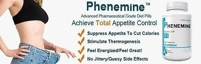 2CT Phenemine Lose Weight Loss Quick Fast Best Diet Pills That Work Fat Burner 9