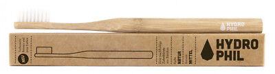 Bambus-zahnbürste, Natur, Mittelweich (konventionell) Gemischt von Hydrophil