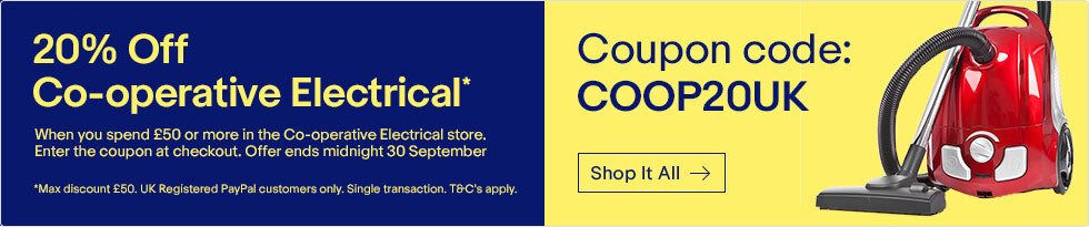 20% off Co-operative Electrical