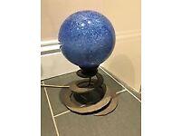 One off Blue orb light