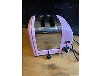 Dualit Pink 2-Slice Toaster