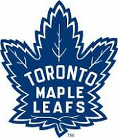 TORONTO MAPLE LEAFS TICKETS 2015-2016 SEASON