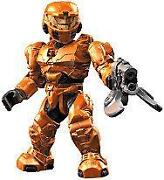 Halo Mega Bloks Orange Spartan