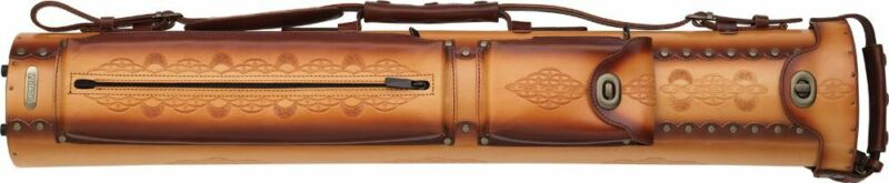 Instroke - Rust Tooled  3/5  Leather Case