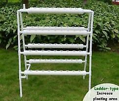 Used Hydroponic Site Grow Kit 70 Holes Ebb and Flow Deep Water Garden#141078