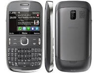 Nokia Asha 302 Dark Grey (Vodafone) Mobile Phone