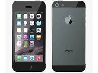 UP FOR GRABS - AN iphone 5 UNLOCKED TO ANY NETWORK IN V.G.C