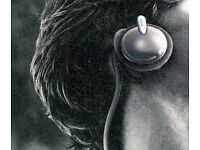 Sony MDR-G62 Behind ear headphones, in used condition, loud behind ear design