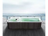 NEVER ENDING POOL - HOT TUB - BRAND NEW - 20FT - FULLY INSULATED COVER