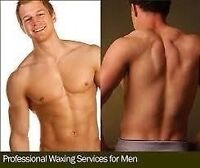 Men full body waxing only $ 130