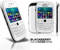 Blackberry Curve 9320 White Mint with 2 Gig Micro SD Card