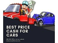 All scrap cars wanted same day collection