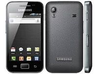 BLACK SAMSUNG GALAXY ACE S5830