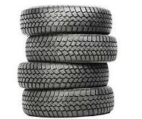 Assorted used tires for sale/Assortiment de pneus usagés à vendr