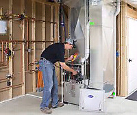 Affordable High Efficiency Furnace Installation