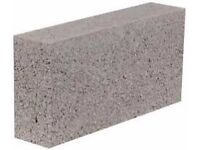 100mm solid dense concrete blocks