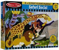 Casse tête GÉANT Melissa and Doug SAFARI SOCIAL