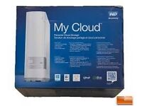 """WD """"My Cloud"""" 2TB Hard Drive. NAS Drive. Similar to Apple Airport Time Capsule BRAND NEW Boxed"""