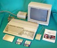 Old Home Computers made by Commodore, Apple, Atari, T.I., etc.