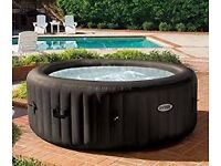 Hot tub Intex PureSpa Jet Massage, with cup holder, additional filters & chemicals