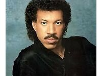 Lionel Ritchie Tickets - CHESTERFIELD AMAZING SEATS - FACE VALUE